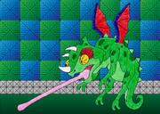 【南海大冒険】カメレオンコウモリ【ドラゴンの日】