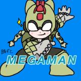 メガマン(メガネカイマン)
