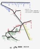 長崎県路線図 2019-04