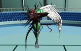 【MMD遊戯王】E・HEROフレイム・ウィングマン