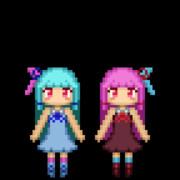 【GIFアニメ】琴葉姉妹誕生日記念絵