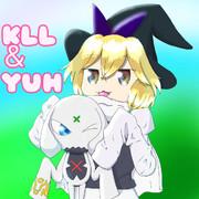 仲良しな KLL と YUH☆