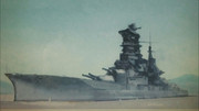 戦艦「榛名」、写真撮影してきた風