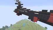地球連邦主力戦艦ドレッドノート級 地球防衛前線仕様作った