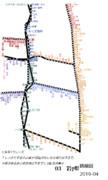岩手県路線図 2019-04