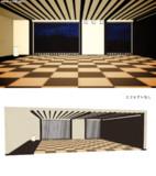 琉球畳和モダンステージ