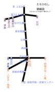 立川市路線図