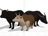 【配布】牛セット(OMF9対象分)