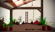 【MMD-OMF9】緑の箱庭ステージ【ステージ配布】