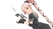 【MMD-OMF9】由良さんの主砲