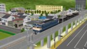 【MMD-OMF9】昭和な高架橋【MMD鉄道】