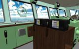 【MMD-OMF9】船舶用無線機一式(卓上型)【モデル配布】
