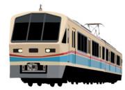 近江鉄道700形 あかね号