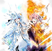 炎と氷の琴葉姉妹