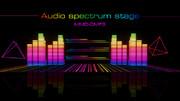 【MMD-OMF9】オーディオスペクトラムステージ