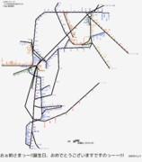 福岡県路線図 2019-05