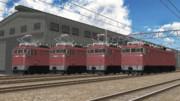 【MMD-OMF9】EF80型電気機関車(前期型)【MMD鉄道】