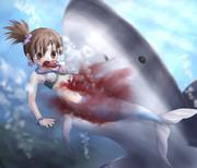マーメイドプリンセス琴が海の魔王に殺された♥