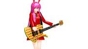 【MMD-OMF9】フェルナンデスMG420S hideモデル風ギター【配布】