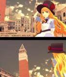 ヴェネチアの街で