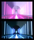 【MMD-OMF9】結晶の回廊【ステージ配布】