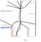 福島県路線図 2019-05