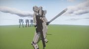 [Minecraft/JointBlock]JBで人型ロボ作ってみた4 「SAFU」(仮)