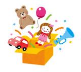 おもちゃ箱(いらすとや)