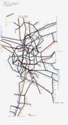 大阪府路線図 2019-05