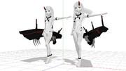 【MMD-OMF9】深海芋姫たち