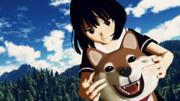 世界の終わりに柴犬と-MMD-