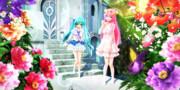 【今日のYYBルカさん】ルカあぴの 花園のお散歩タイム…♡