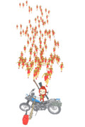 カラオケ中、過去に刻んだマリオの大群に襲われるゆもちょむさん.png