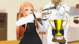 【MMD】レア様、イーノック、2525再生おめでとう!