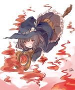 火属性魔法使いの女の子