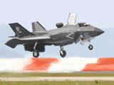 F-35B帰投