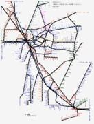 愛知県路線図 2019-05