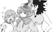 東方鬼形獣の3人