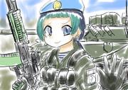 VDV時代のキュルル中尉(当時)