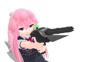 【すいまじ】61式音子機関砲【貨客船娘】