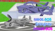【MMDモデル配布】RAHX-505 スティングレイ + RMQX-505
