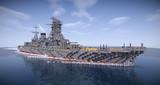 【Minecraft】戦艦長門(昭和11年 大改装後)