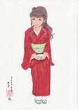 コピック着色 服部瞳子さんぽいの31 春のお茶会