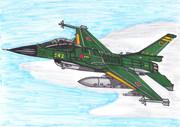 F-2を旧海軍塗装にしてみた