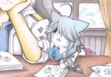 報告書を持って来た浜波猫