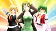 【Fate/MMD】大人組でポーズ【東方MMD】