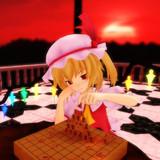 将棋で遊ぶフランドール