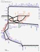 愛媛県路線図 2019-05