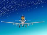 飛行機に搭乗するMGR姉貴