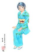 コピック着色 和久井留美さんぽいの10 貴婦人のたしなみ